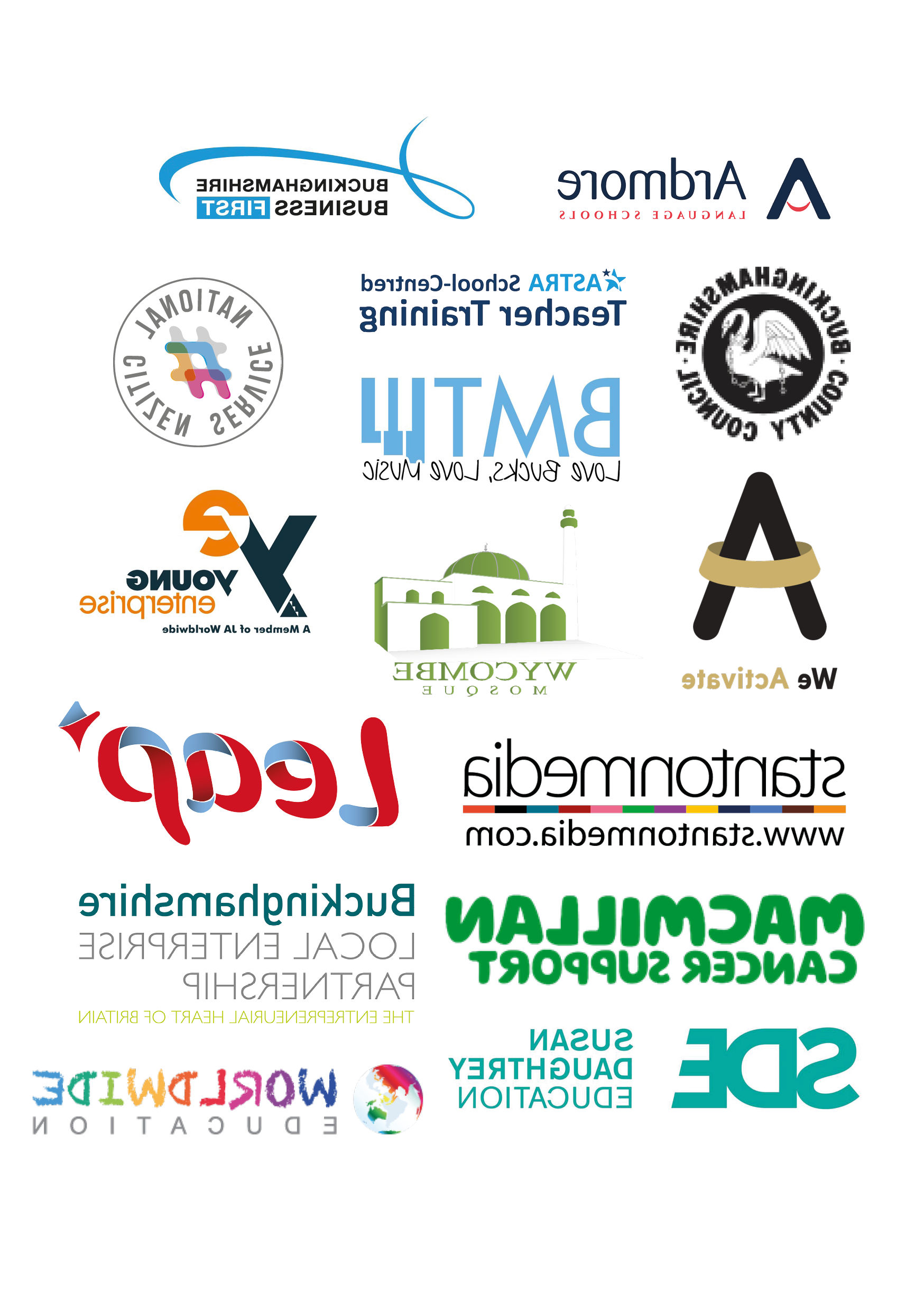 Grouped Image of Company Logo's of those we've worked with